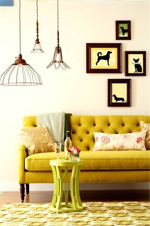 yellow-decor